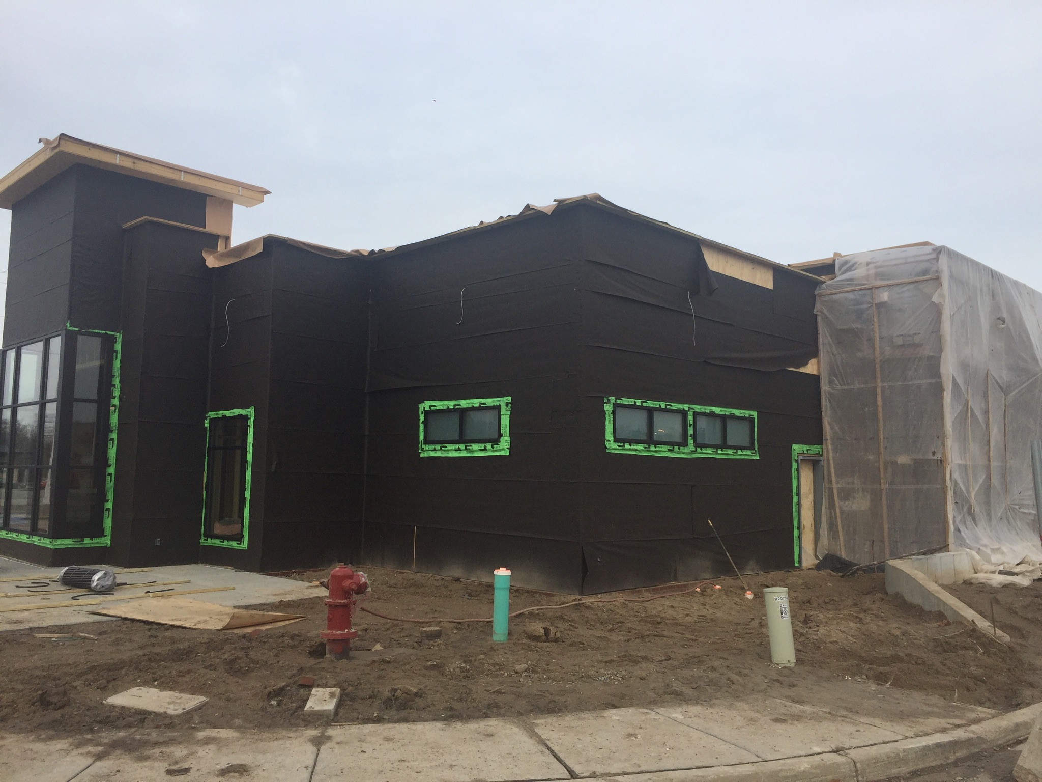 Construction Continues on New Chick-Fil-A in Meridian Township